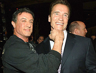Governor Arnie to have small role in new Sly Stallone film