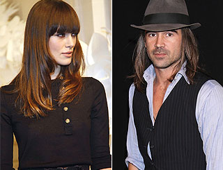 Keira comforts newly single Colin Farrell over split