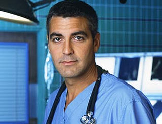 George Clooney's ER cameo brings highest ratings in two years