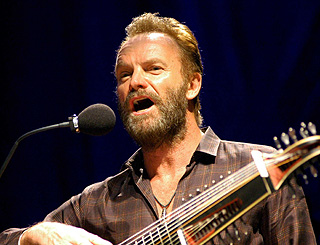 Sting turns hand to wine production