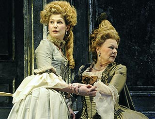 Judi Dench and Rosamund Pike open in period romp