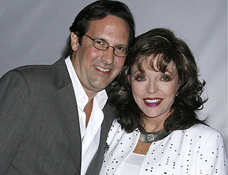 Joan Collins to renew wedding vows with Percy Gibson