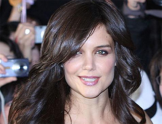 Katie Holmes' Valkyrie premiere makeover cost £30,000