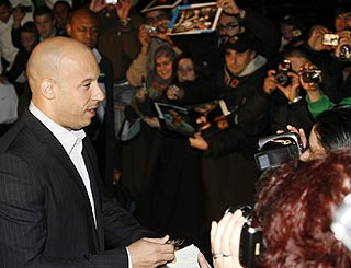 Vin Diesel presents final sequel of Fast & Furious in Italy