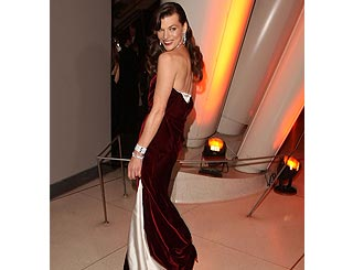 Milla Jovovich wows at New York gala