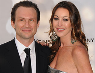 Tamara Mellon and Christian Slater split