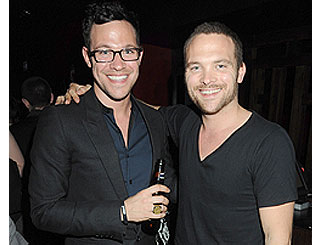 Will Young hits musical scene with twin brother Rupert