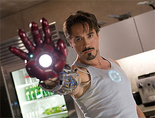 Scarlett and Mickey to join Robert Downey Jr in Iron Man sequel