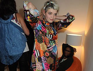 Fashion-conscious Pixie dons three outfits on London night out