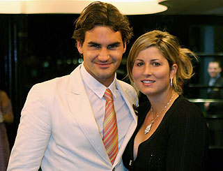 Game, set and love match for newlywed Roger Federer