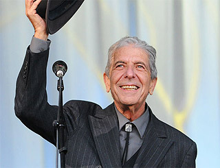 Leonard Cohen to do one-off open air concert in Surrey