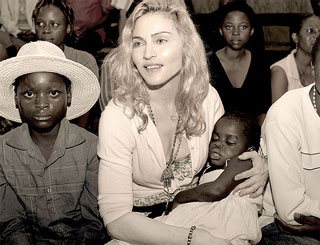 Madonna's staff still looking after Mercy