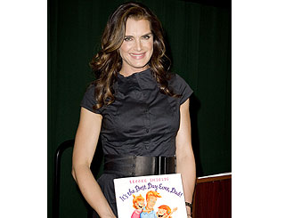 Brooke Shields presents new children's book