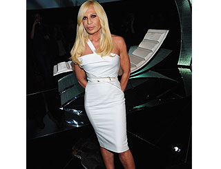 Donatella Versace unveils furniture collection in Rome