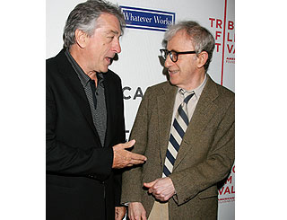 Woody back in NYC to kick off film fest with Robert De Niro