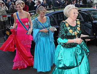 Gems, gowns and grandeur for Swedish royals in Netherlands
