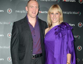 Zara Phillips and Mike Tindall get gambling for a good cause