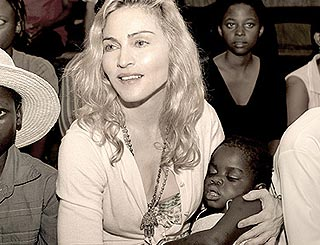 Madonna relying on power of prayer for Mercy adoption