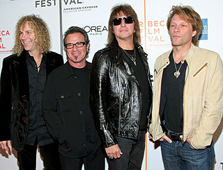 Jon Bon Jovi presents rock documentary at Tribeca