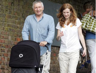 Jonathan Dimbleby to be a dad again at 64