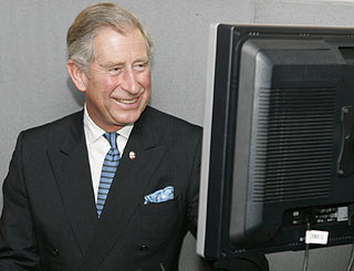 Charles uses social networking site to make rainforest plea