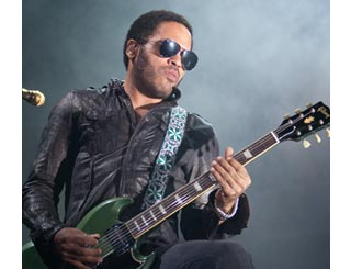 Lenny Kravitz to debut Hendrix guitar at UK gigs