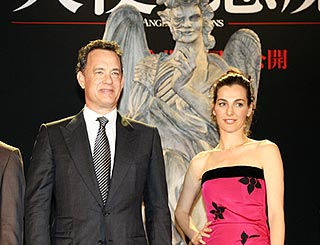 Tom Hanks and Ayelet take Da Vinci Code prequel to Tokyo