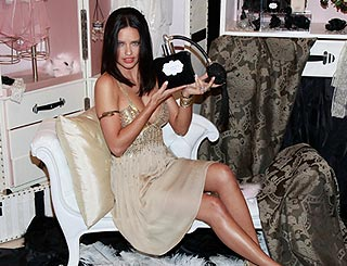 Adriana Lima turns 'Egyptian' angel to present Secret scent