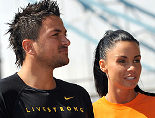 Katie Price and Peter Andre decide to call time on their marriage