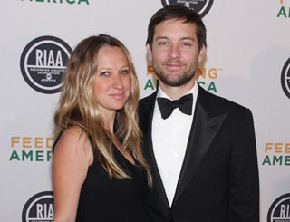 Tobey McGuire and wife Jennifer welcome a brother for Ruby