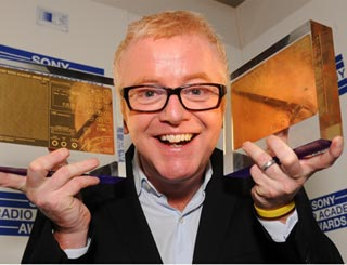 Chris Evans is a double winner at radio awards