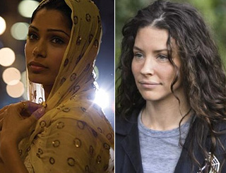 Freida Pinto and Lost's Evangeline are new beauty ambassadors