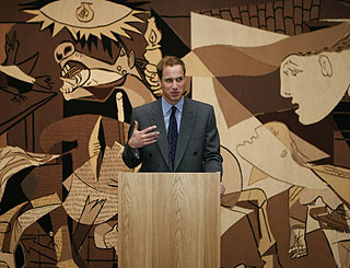 Prince William 'fesses up to being art guerrilla 'Banksy'