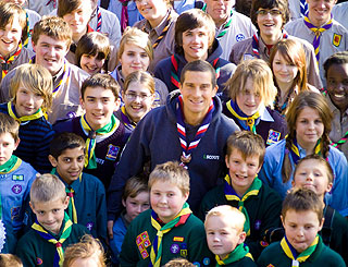 TV survival star Bear Grylls becomes youngest Chief Scout