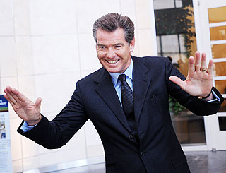 Pierce Brosnan steps up the fight against global warming