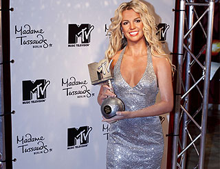 Britney's 'comeback' moment is immortalised in wax