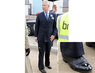 Charles' favourite footwear still going strong after 40 years