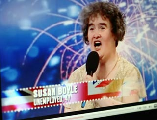 Simpsons reference confirms Susan Boyle's global status