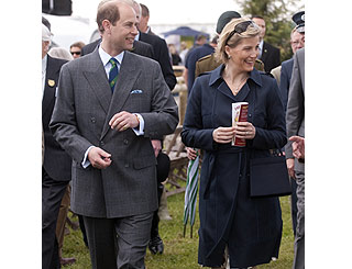 Sophie and Edward give country show royal seal of approval
