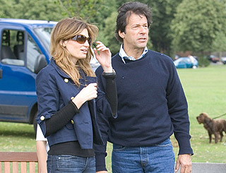 Co-parenting a cinch for Jemima Khan and her ex