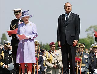 French say Queen is welcome at D Day memorial event
