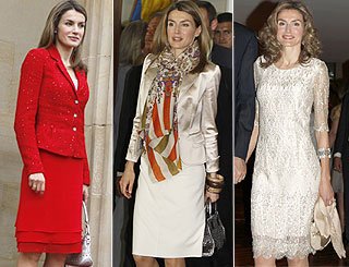 Princess Letizia wows Colombia with her red hot fashion choices