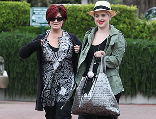Kelly and Sharon Osbourne enjoy girls' day out in Malibu