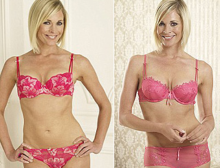 Jenni Falconer unveiled as new face of Ultimo lingerie