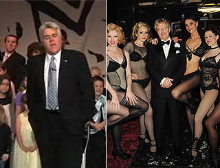 Jay Leno bows out as Jerry Springer makes West End debut