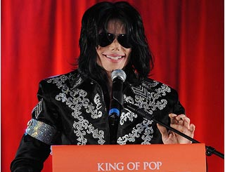 Michael Jackson returns to performing to secure kids' future