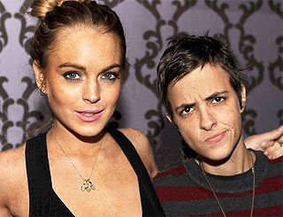 Lindsay Lohan patches things up with Samantha Ronson