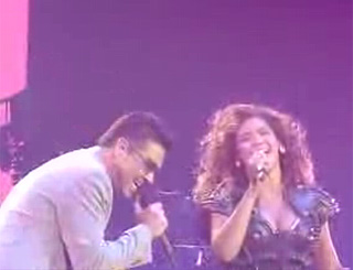 George Michael joins Beyonce in surprise duet during final gig