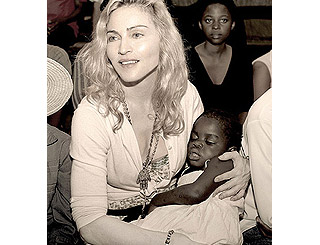 Madonna working to smooth Mercy's transition to US