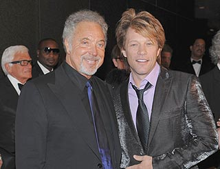 Tom Jones and Jon Bon Jovi inducted into Hall Of Fame